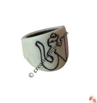 Bone finger ring28