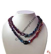 Cotton-silk braided necklace7