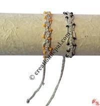 Net design hemp hand band