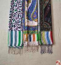 Assorted thin silk stole