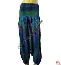 Afgani design tie-dye trouser