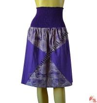 Bobbin waist chakra skirt