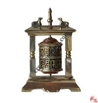 Table-stand decorative prayer wheel 6