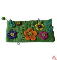 Flowers pencil purse1