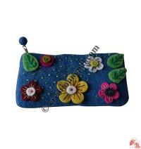 Flowers pencil purse2