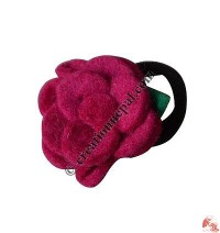 Single color 4-layer flower hairband