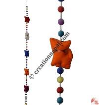 Felt beads-cats decorative hanging
