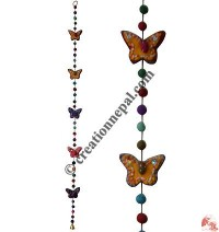 Felt beads-Butterfly decorative hanging