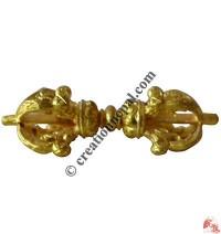 Gold color brass Dorje