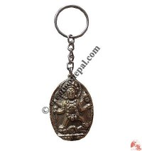 Goddess Durga brass key-ring