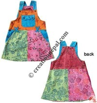 Shyama cotton patch-join kids dress