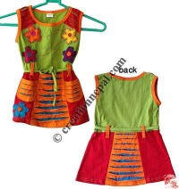 Sinkar kids flower-patch dress