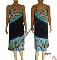 Sinkar tie-dye mid-length dress