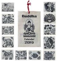 Small handmade paper BW calendar7