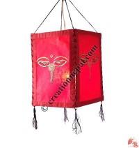 Buddha-eye 4-fold lampshade