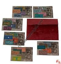 Newspaper style card set