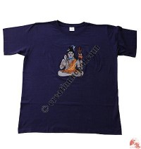 Lord Shiva embroidery t-shirt