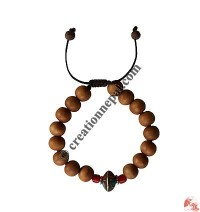 10 mm wooden beads wristband