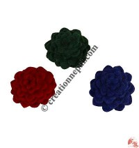 Solid Color 6-layer Felt Brooch