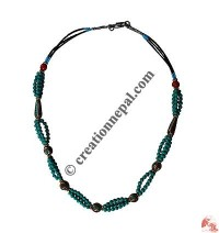 Multi-size beads necklace1