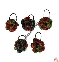 Colorful 3-layer flower Hairband