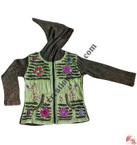 Kids Razor-cut hand emb. Jacket