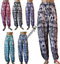 Flower-Elephant print trouser