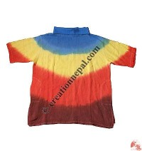 Tie-dye High-neck kurtha