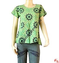 Flower print Khaddar top