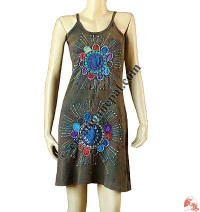 Sun Flower hand Emb. dress
