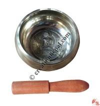 Buddha design bronze singing bowl