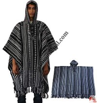 BW gheri cotton poncho
