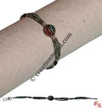 Antique look Turq pote bracelet3