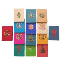 Auspicious signs lokta notebook