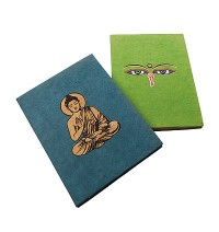 Buddha cover Lokta notebook