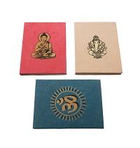 Buddha, Ganesha OM notebook
