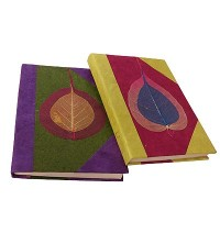 Bodhi leaf small notebook