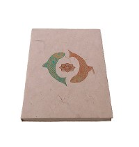 Machha print Lokta notebook