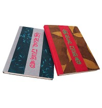 Curved fold small notebook2