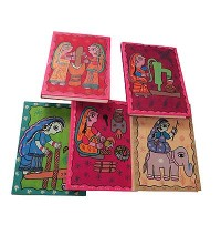 Mithila women lifestyle notebook