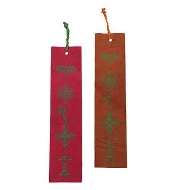 Bookmark - Buddhist signs (packet of 6)