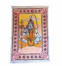 Shiva brushed print Small wall hanging