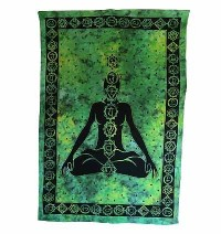 Deep meditation Small wall hanging