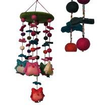 Felt Owl chandelier