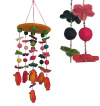 Felt Penguin chandelier2
