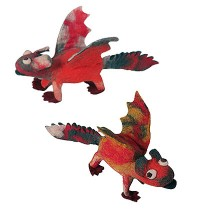 Felt flying dinosaur1