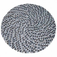90 cm Circle shape felt rug