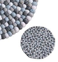40 cm Circle shape felt mat