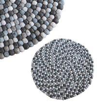 55 cm Circle shape felt mat