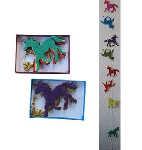 Large Horse Lokta paper decorative garland